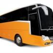 Yellow Tour bus — Stock Photo #13520445