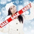 Royalty-Free Stock Photo: Winter sale