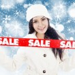 Winter sale 1 — Foto Stock