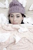 Flu winter 1 — Stock Photo