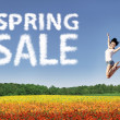 Royalty-Free Stock Photo: Happy spring sale