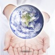 World in hands — Foto de stock #19727325