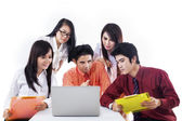 Business discussion team — Stock Photo