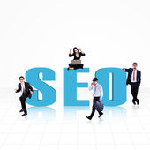 Seo - поисковая оптимизация — Стоковое фото