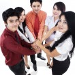 Business team unity — Stockfoto