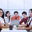 Asian business meeting — Stockfoto