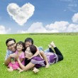 Foto Stock: Fun time with family