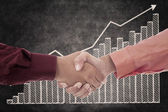 Successful business agreement — Stock Photo