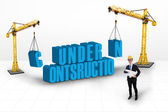 Under construction concept — Stock Photo