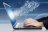 Online-verksamhet — Stockfoto