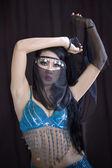 Danzatrice del ventre asiatici — Foto Stock
