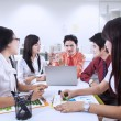 Stock Photo: Business team meeting at office