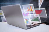 Obchodní analýza — Stock fotografie