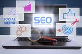 Online výzkum — Stock fotografie