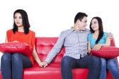 Cheating in partnership — Stock Photo