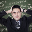 Stressed businessman — Stock Photo #31586193