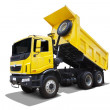 Dump-Body Truck — Stock Photo
