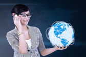 Global communication concept — Stock Photo