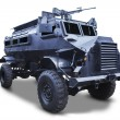 Stock Photo: Old armored car