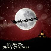Illustration Santa on Christmas Eve night — Stock Photo