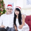 Christmas Couple — Stock Photo #36445777