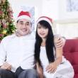 Christmas Couple — Stock Photo #36473191
