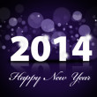 Happy New Year 2014 background — Stockfoto