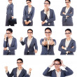 Businesswoman With Different Expressions — Stock Photo #36854713