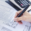 Finance and accounting business — Stock Photo