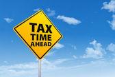 Tax Time Ahead — Stock Photo