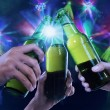 Stock Photo: Beer party
