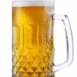 Glass of beer isolated — Stock Photo
