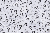 Too many question marks — Stock Photo