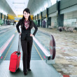 Stock Photo: business traveler