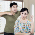 Couple Having An Argument — Stock Photo