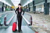 Business traveler — Stock Photo