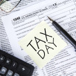 Tax Day Concept — Stock Photo