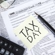 Tax Day Concept — Stock Photo #40963135