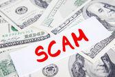 Scam Concept — Stock Photo