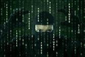Cyber criminale — Foto Stock