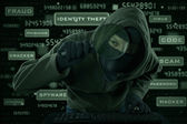 Spyware crime — Stock Photo