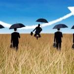 Insurance Agent concept — Stock Photo