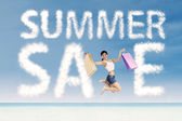 Summer special sale concept — Stock Photo