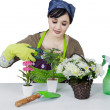 Female florist — Stock Photo #43591325