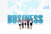 Obchodní úspěch týmu — Stock fotografie