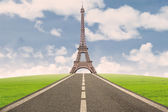Beautiful Eiffel Tower in Paris — Stock Photo