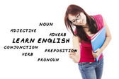 English language materials 1 — Stock Photo