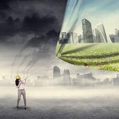 環境保存の概念 — ストック写真