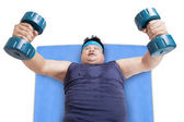Loss weight exercise 3 — Stock Photo