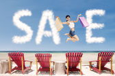 Summer special offer concept 1 — Stock Photo